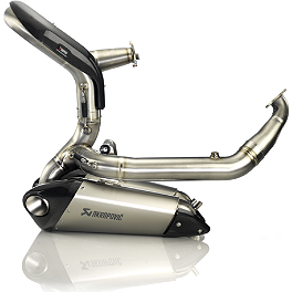 Akrapovic Evolution Full System Exhaust - Titanium - Akrapovic Evolution Full System Exhaust - Carbon Fiber