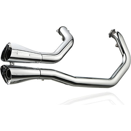Akrapovic Open Line 2-Into-2 Exhaust - Chrome - Main
