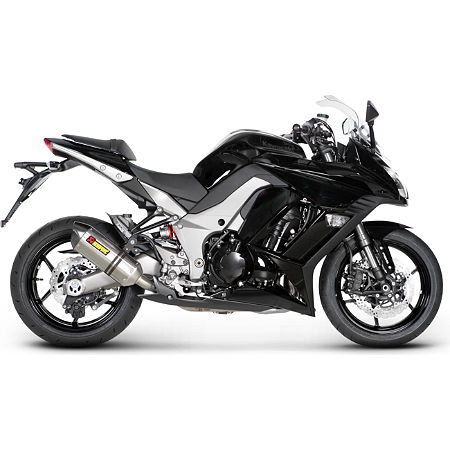 Akrapovic Racing Full System Exhaust - Titanium Single - Main
