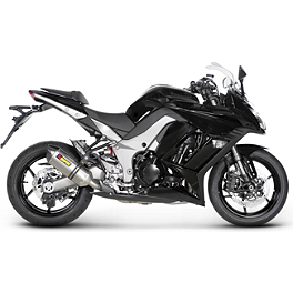 Akrapovic Racing Full System Exhaust - Titanium Single - 2011 Kawasaki ZX1000 - Ninja 1000 Akrapovic Racing Full System Exhaust - Titanium Single