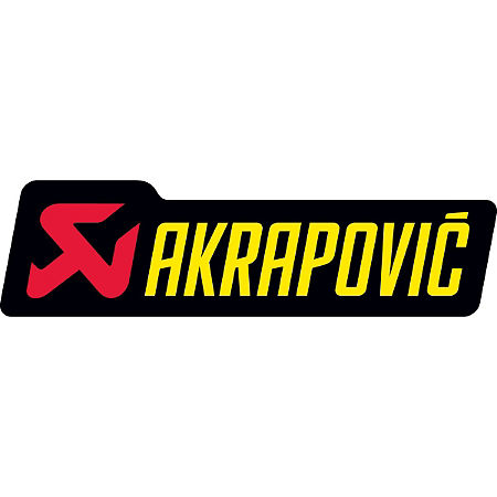 Akrapovic Horizontal Sticker - Main