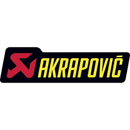 Akrapovic Horizontal Sticker - Akrapovic Vertical Sticker