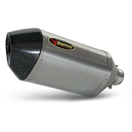 Akrapovic Slip-On Exhaust - Titanium - 2006 Yamaha YZF - R6 Akrapovic Slip-On Exhaust - Titanium Megaphone