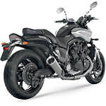 Akrapovic Slip-On EC Type Conical Exhaust - Titanium - Akrapovic Cruiser Exhaust