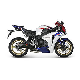 Akrapovic Slip-On EC Type Exhaust - Carbon Fiber - 2012 Honda CBR1000RR ABS Akrapovic Slip-On EC Type Exhaust - Carbon Fiber
