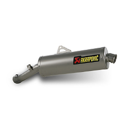 Akrapovic Slip-On EC Type Exhaust - Titanium Oval - 2010 BMW R 1200 GS Yoshimura RS-3 EPA Compliant Slip-On Exhaust - Carbon Fiber
