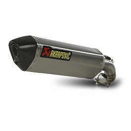 Akrapovic Slip-On EC Type Exhaust - Titanium - 2013 Honda CB1000R Akrapovic Slip-On Exhaust - Carbon Fiber