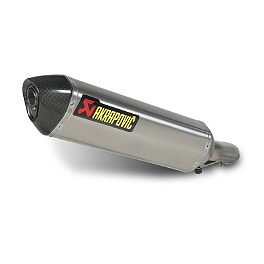 Akrapovic Slip-On EC Type Exhaust - Titanium - 2011 Suzuki GSX1250FA Akrapovic Slip-On EC Type Exhaust - Titanium