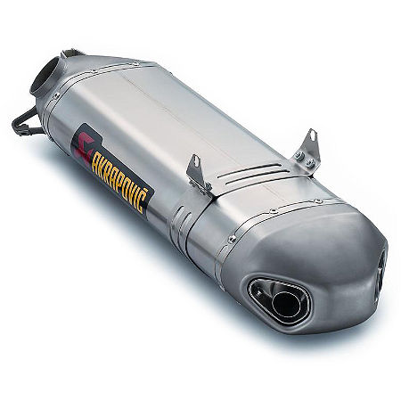 Akrapovic Slip-On Exhaust For Akrapovic Headers - Titanium - Main