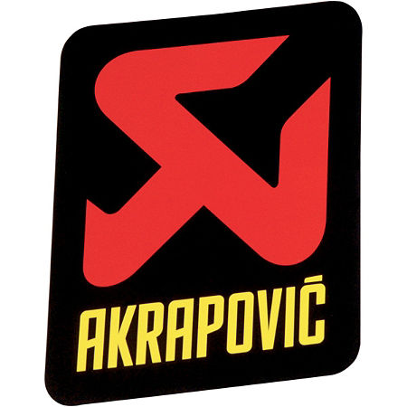 Akrapovic Vertical Sticker - Main