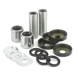 All Balls Upper A-Arm Kit - 2005 Honda TRX450R (KICK START) Pivot Works A-Arm Bearing Kit Upper
