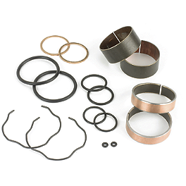 All Balls Fork Bushing Kit - 1990 Suzuki RM250 Motion Pro Micro Fork Bleeders - Silver