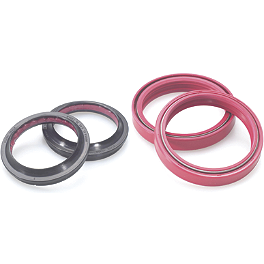 All Balls Fork Seal And Wiper Kit - 2008 Honda CRF150F Factory Effex DX1 Backgrounds Standard - Honda