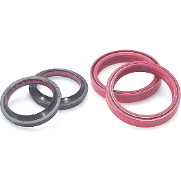 All Balls Fork Seal And Wiper Kit - 1985 Honda XR600R Cometic Top End Gasket Kit