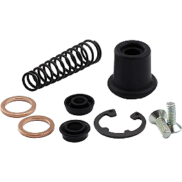All Balls Master Cylinder Rebuild Kit - Front - 2006 Kawasaki BRUTE FORCE 650 4X4 (SOLID REAR AXLE) Moose Master Cylinder Repair Kit - Front