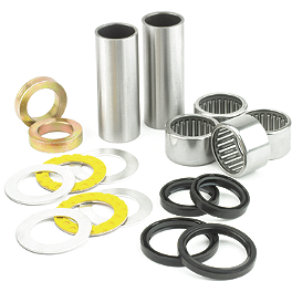 All Balls Swingarm Bearing Kit - 2002 Suzuki RM250 All Balls Fork Seal And Wiper Kit