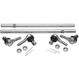 All Balls Tie Rod Upgrade Kit - 2001 Yamaha WOLVERINE 350 Durablue Lug Nuts Flat, 8 Pack