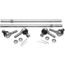 All Balls Tie Rod Upgrade Kit - 2004 Suzuki VINSON 500 4X4 SEMI-AUTO Moose Tie Rod Upgrade Replacement Tie Rod Ends