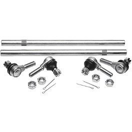 All Balls Tie Rod Upgrade Kit - 2005 Yamaha GRIZZLY 660 4X4 Moose Handguards - Black