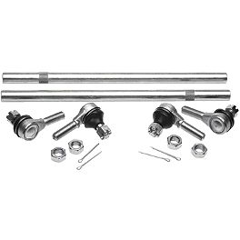All Balls Tie Rod Upgrade Kit - 2002 Suzuki EIGER 400 4X4 SEMI-AUTO Moose Handguards - Black