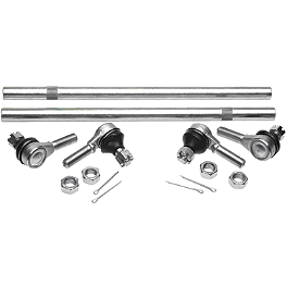 All Balls Tie Rod Upgrade Kit - 1993 Honda TRX300EX Moose Handguards - Black