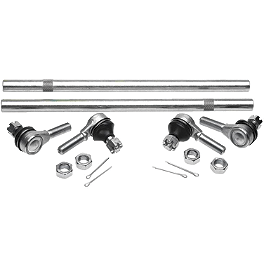 All Balls Tie Rod Upgrade Kit - 2004 Honda TRX400EX Moose Handguards - Black