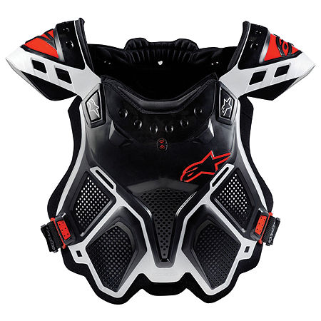 Alpinestars A-10 Bionic Neck Support Chest Protector - Black & Red - Main