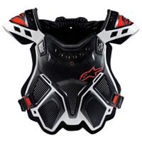 Alpinestars A-10 Bionic Neck Support Chest Protector - Black & Red