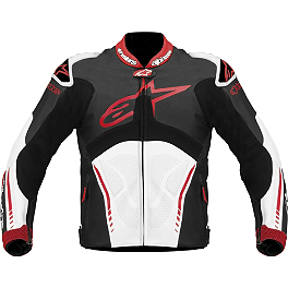 Alpinestars Atem Leather Jacket - Alpinestars GP-M Perforated Leather Jacket