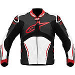 Alpinestars Atem Leather Jacket - Alpinestars Motorcycle Riding Gear