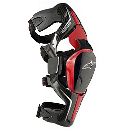 Alpinestars Carbon B-2 Knee Brace - Troy Lee Designs Catalyst X Knee Brace Set