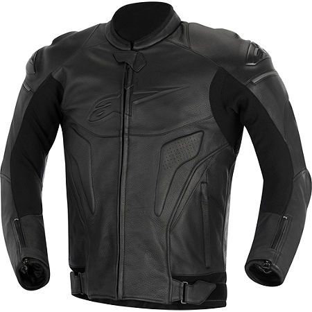 Alpinestars Black Shadow Phantom Leather Jacket - Main