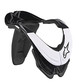 Alpinestars Bionic Neck Support SB - Alpinestars A-10 Bionic Neck Support Chest Protector - Black & Red
