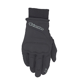 Alpinestars C-1 Windstopper Gloves - Schampa Warmskin Skull Gaiter