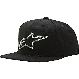 Alpinestars Criss Cross Custom Snapback Hat - Alpinestars Seasoned Classic Flatbill Hat