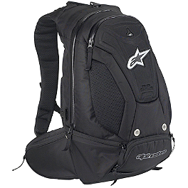 Alpinestars Charger Backpack - Alpinestars Protection Backpack Black