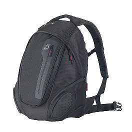 Alpinestars Commuter Backpack - Black - Motocentric Mototrek Backpack