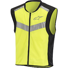 Alpinestars Flare High Visibility Vest - REV'IT! Athos Air Vest