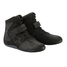 Alpinestars Fastback Waterproof Shoes - Alpinestars Fastlane Riding Shoe