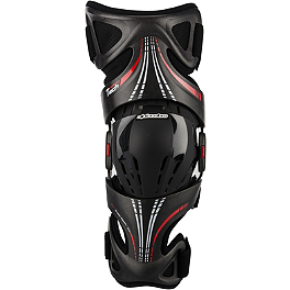 2014 Alpinestars Fluid Tech Knee Brace - 2014 Alpinestars Fluid Pro Knee Brace - Pair