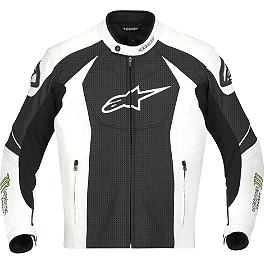 Alpinestars GP-M Perforated Leather Jacket - Alpinestars Jaws Leather Jacket