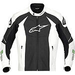 Alpinestars GP-M Perforated Leather Jacket - Alpinestars Motorcycle Riding Gear
