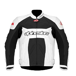 Alpinestars GP Plus Perforated Jacket - Alpinestars GP-R Perforated Leather Jacket