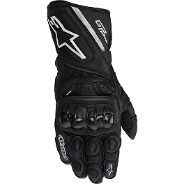 Alpinestars GP Plus Gloves - Dainese Carbon Cover Gloves
