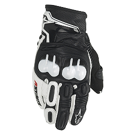Alpinestars GP-X Gloves - Alpinestars Octane S-Moto Leather Gloves