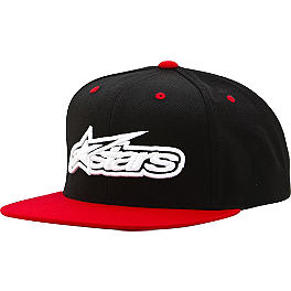 Alpinestars Imprint Classic Snapback Hat - One Industries Riding Dirty J-Fit Snapback Hat
