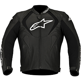 Alpinestars Jaws Perforated Leather Jacket - Alpinestars Jaws Leather Jacket