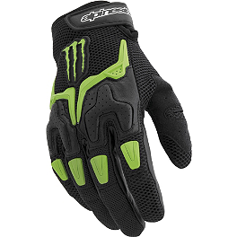 Alpinestars M20 Gloves - 2008 Kawasaki EX250 - Ninja 250 Kawasaki Genuine Accessories Team Monster Graphic Kit