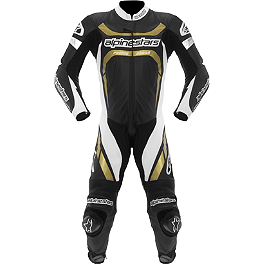 Alpinestars Motegi Leather One-Piece Suit - Alpinestars Carver Leather One-Piece Suit
