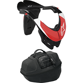 Alpinestars Carbon Bionic Neck Support - Leatt GPX Club II Neck Brace